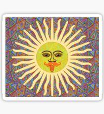 Sun Man  Sticker