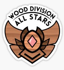 WOOD DIVISION ALL STARS Sticker