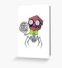 Dr. Phage Greeting Card