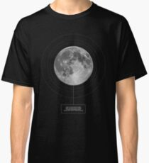 OMINOUS: Now I Lay Me Down to Sleep - Moon, celestial, horror, poetry design Classic T-Shirt