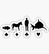 Evolution Poker Sticker