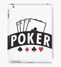 Poker iPad Case/Skin