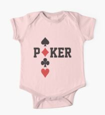 Poker One Piece - Short Sleeve