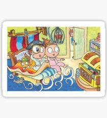 Adventure Bedtime Sticker
