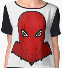 Jason Todd Red Hood Chiffon Top