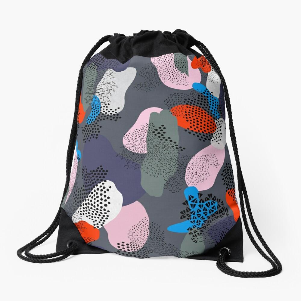 Night Stroll Drawstring Bag