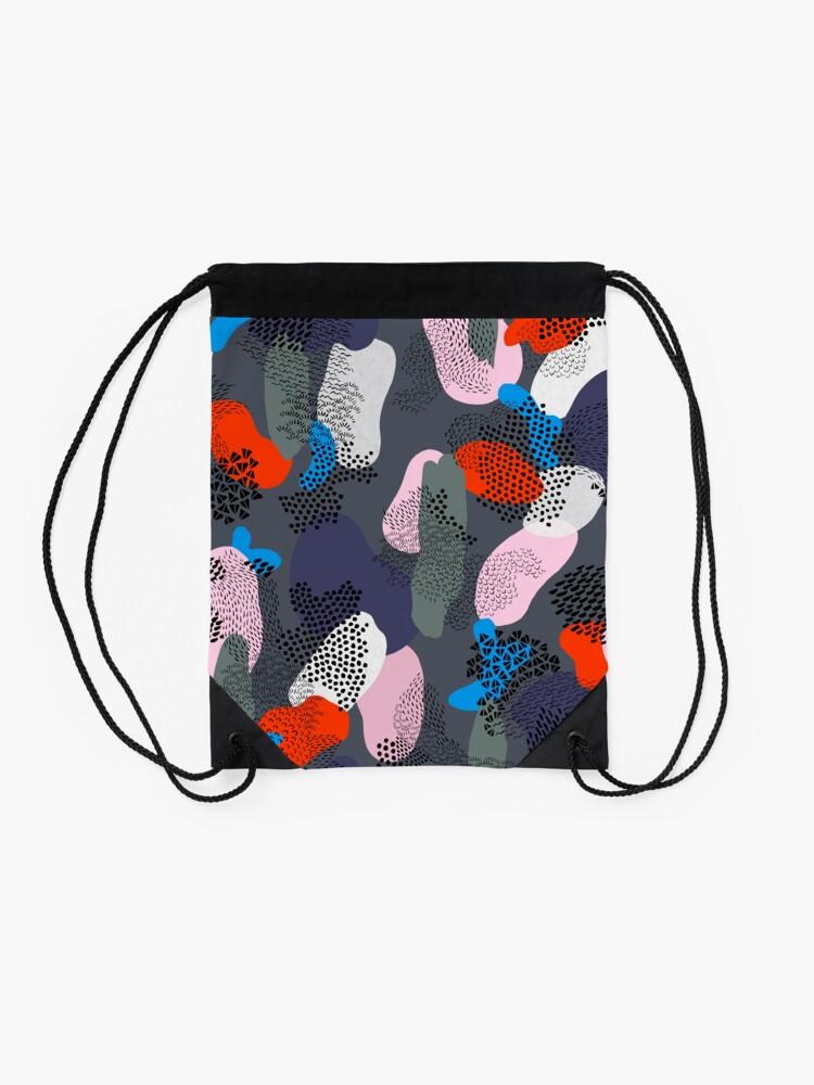Alternate view of Night Stroll Drawstring Bag