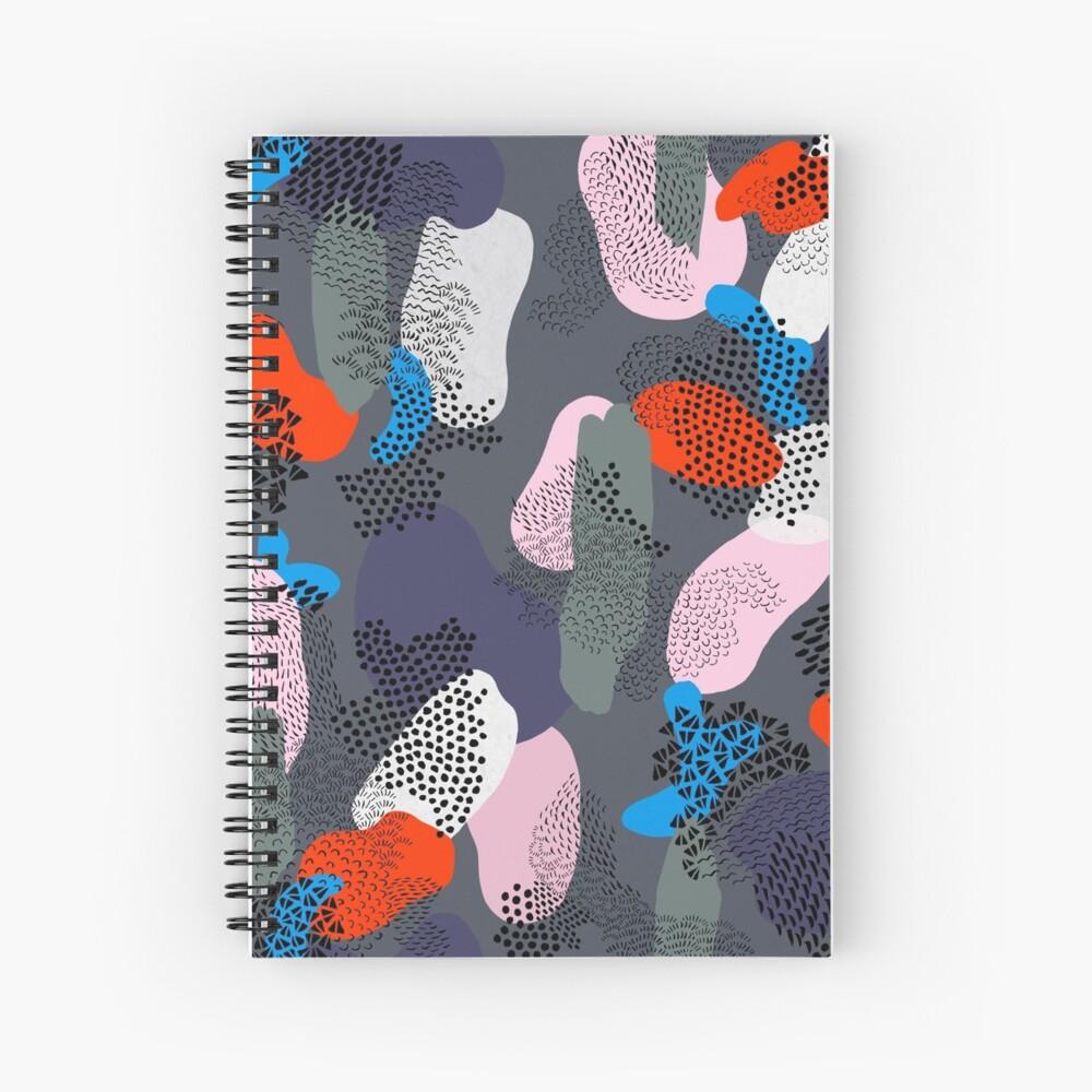 Night Stroll Spiral Notebook