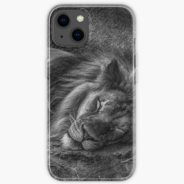 Lazy Leo iPhone Soft Case