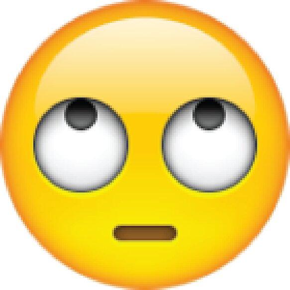 Image result for eyeroll emoji