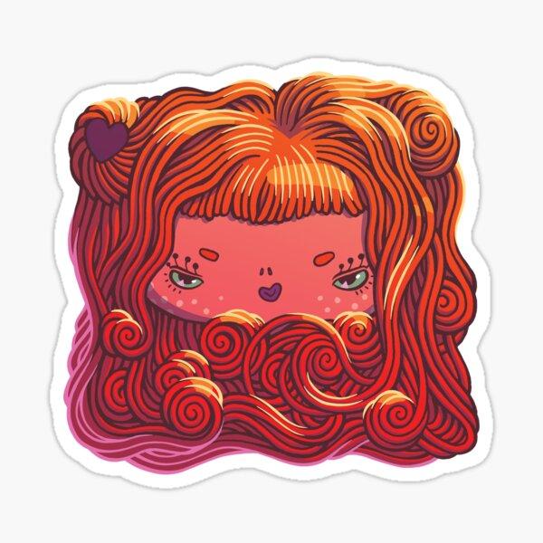 Pretty Spaghetti Sticker