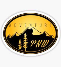 Pegatina Aventura PNW