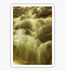 Buckland River abstract Sticker