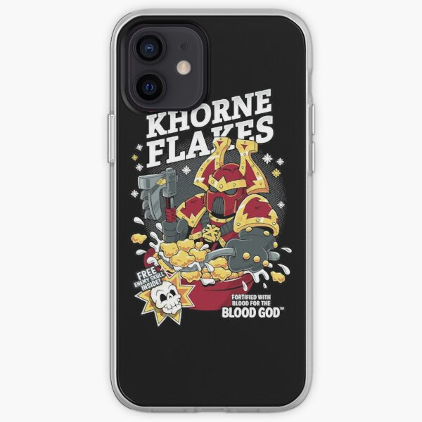 Chaos Khorne Flakes iPhone Soft Case