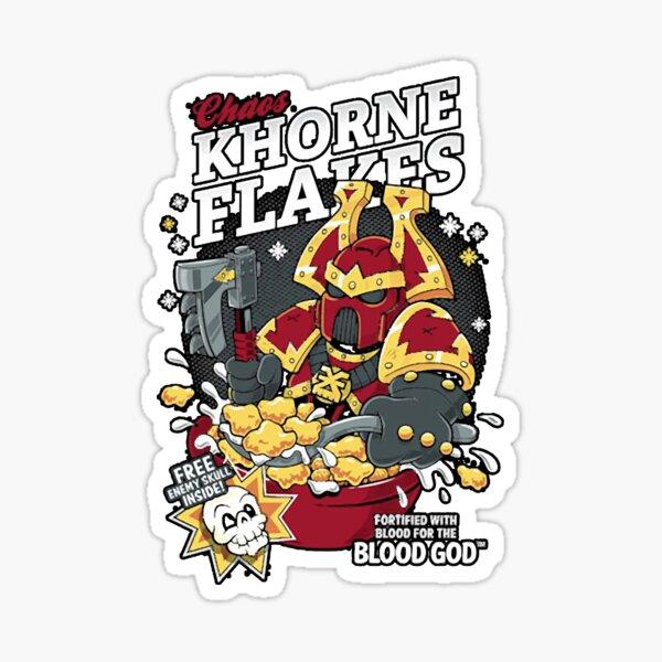 Chaos Khorne Flakes Sticker