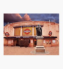 Tooting Broadway Station, SW17, London Photographic Print
