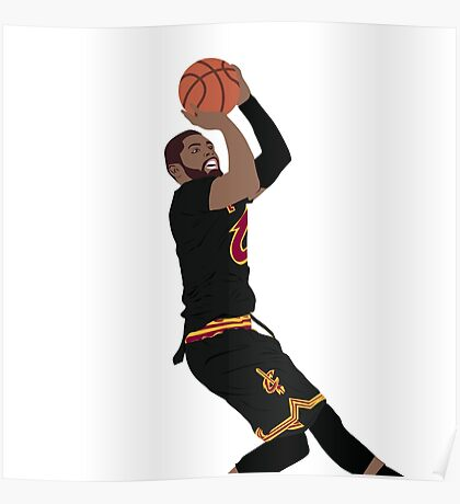 kyrie irving design amp illustration posters redbubble