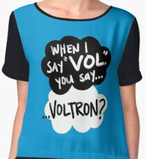 The Fault in Our Keith Women's Chiffon Top