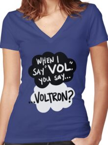 The Fault in Our Keith Women's Fitted V-Neck T-Shirt