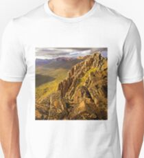 Afternoon light on Mount Hyperion Unisex T-Shirt