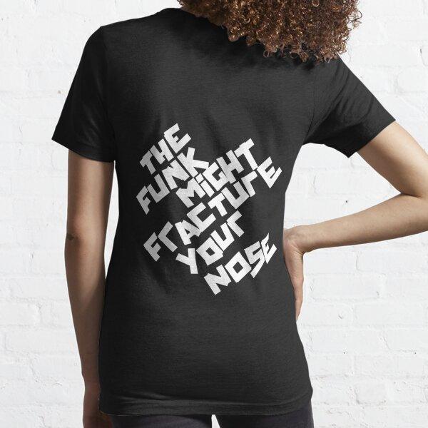 EL FUNK PUEDE FRACTURAR SU NARIZ (Arctic Monkeys) Camiseta esencial