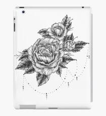 Linework Peonies iPad Case/Skin