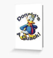 Trump Donald's A Quack  Greeting Card