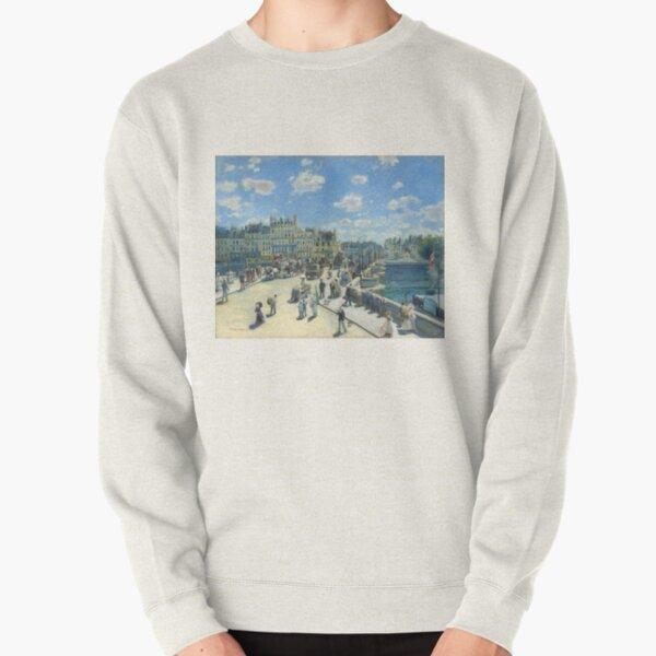 Pont-Neuf - 1872 - Pierre-Auguste Renoir Pullover Sweatshirt