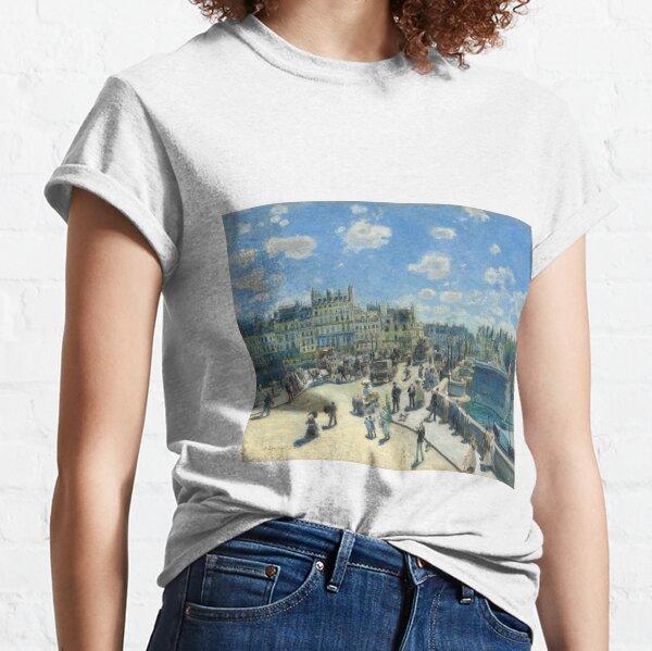 Pont-Neuf - 1872 - Pierre-Auguste Renoir Classic T-Shirt