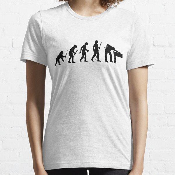 Funny Billiards Evolution Of Snooker Essential T-Shirt