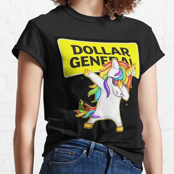 Dollar General – Dollar General – Unicorn Dabbing Unisex Designer  Classic T-Shirt