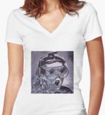 Futurama Women's Fitted V-Neck T-Shirt