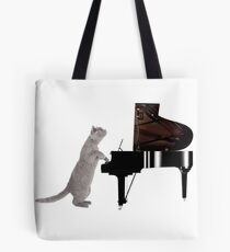Piano Cat - Meowsicians Tote Bag