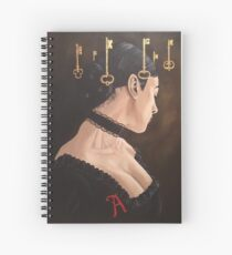A Is For Atonement Spiral Notebook
