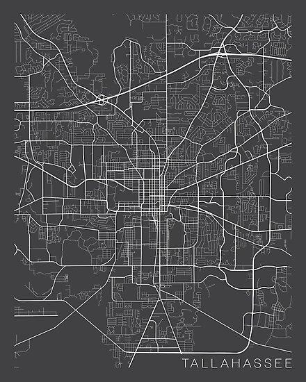 Tallahee Usa Map on