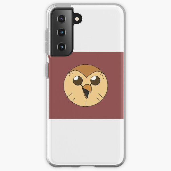 Hooty owl hous| Perfect Gift | Owl house gift Samsung Galaxy Soft Case