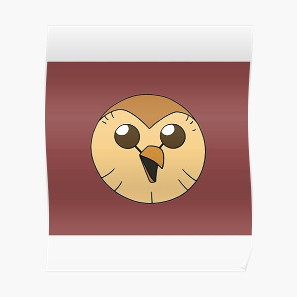 Hooty owl hous  Perfect Gift   Owl house gift Poster