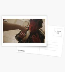 Blood on my leather Postcards