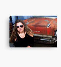 CAR MODEL Canvas Print