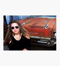 CAR MODEL Photographic Print