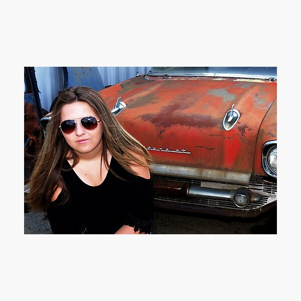 CAR MODEL Photographic Print