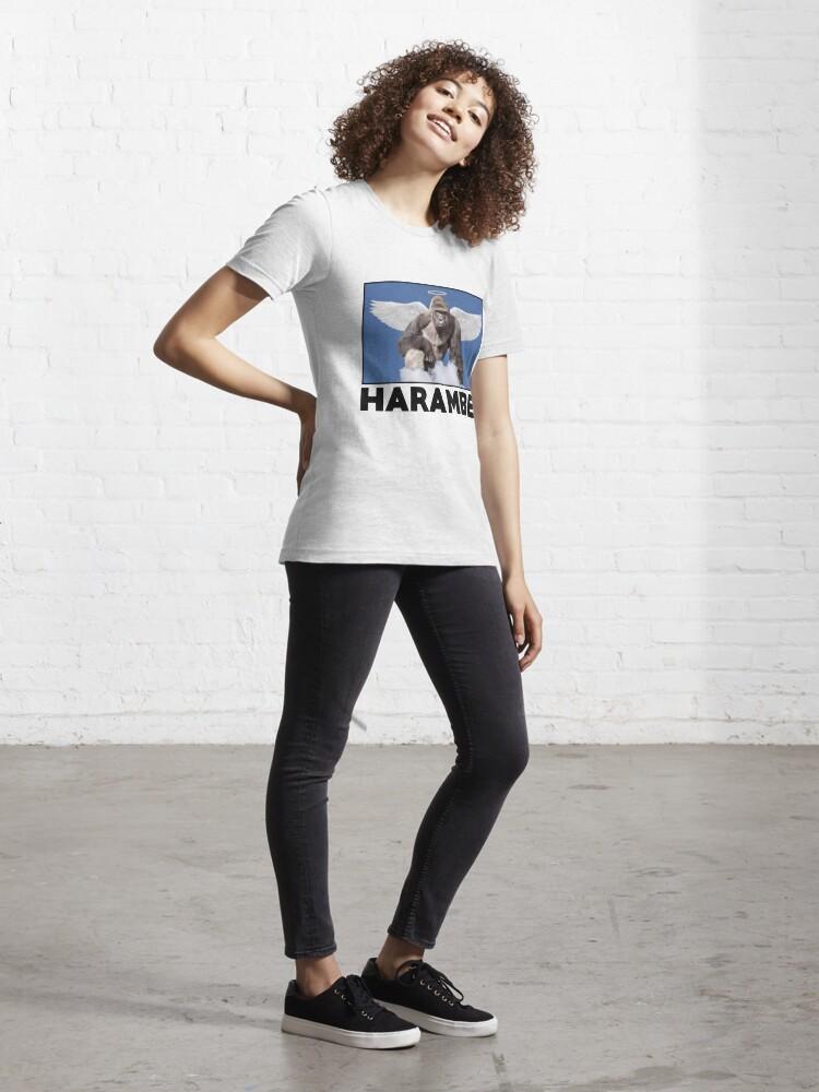 Alternate view of HARAMBE Essential T-Shirt