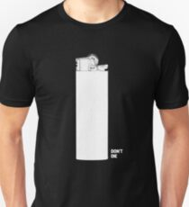 OMINOUS: White Lighter T-Shirt