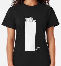 OMINOUS: White Lighter Classic T-Shirt