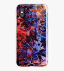 Abstract Art Retro Floral Pattern iPhone Case