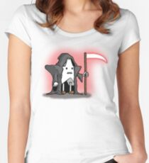 Death-Star Women's Fitted Scoop T-Shirt