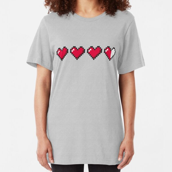 I Love Retro Gaming Slim Fit T-Shirt