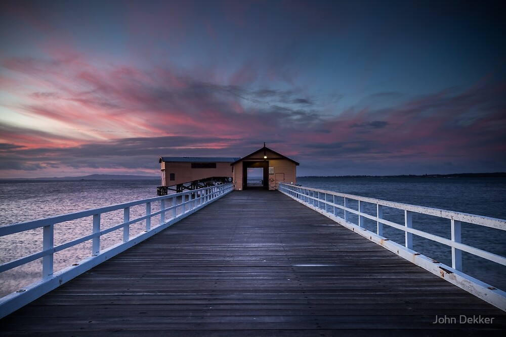 Queenscliff Pier by John Dekker