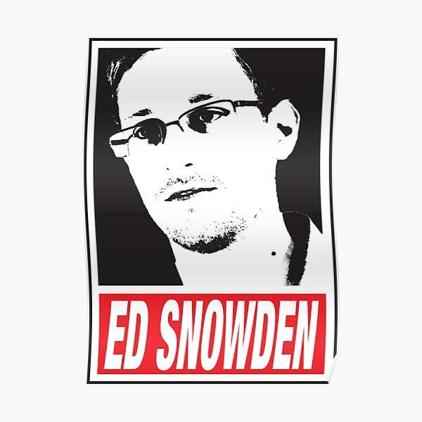 EDWARD SNOWDEN - WHISTLE BLOWER Poster