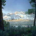 Split Mountain at sunset by nealbarnett